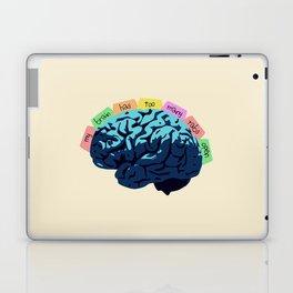 My Brain Has Too Many Tabs Open Laptop & iPad Skin