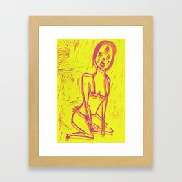 Manuela Framed Art Print