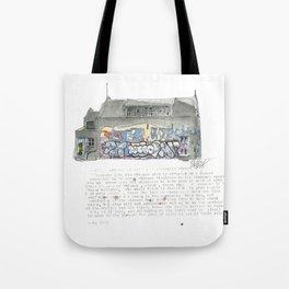 46 Fredrick Street Tote Bag