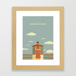 Moonrise Kingdom - Suzi Bishop Framed Art Print