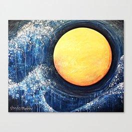 Hikari Moon Canvas Print