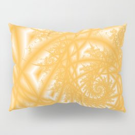 Venetian Lace in Gold Pillow Sham
