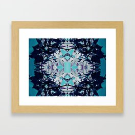 Blue Reef Framed Art Print