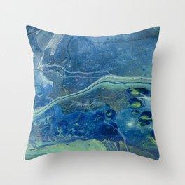 In Depths Unknown Throw Pillow