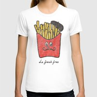 french fries T-shirts featuring French Fries by Picomodi