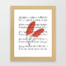 Kass' Melody Framed Art Print
