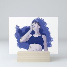 Chilling 3 Mini Art Print