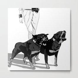 Fashion Rottweiler  Metal Print