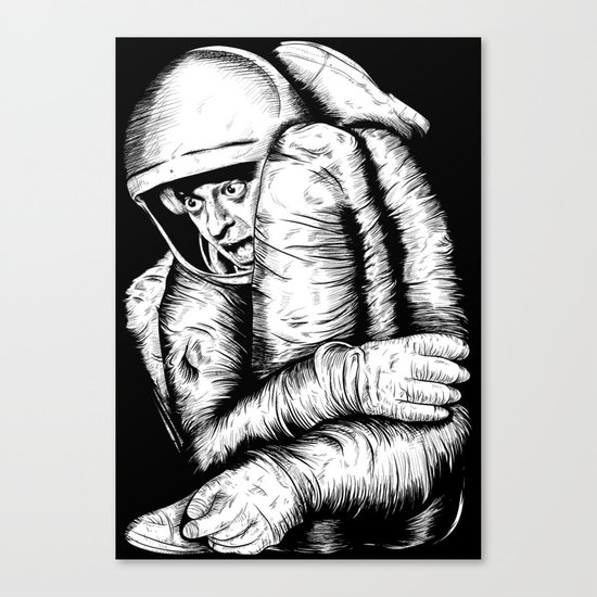 Infinite Improbability Drive Canvas Print