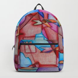 Cubist Chickens Backpack