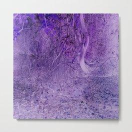 Season of the Land - Purple Storm Metal Print