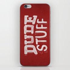 Dude Stuff iPhone & iPod Skin
