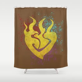 Beauty in Asymmetry Shower Curtain
