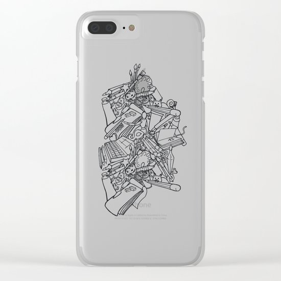 Artist haven Clear iPhone Case