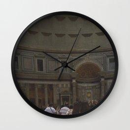 Inside the Pantheon Wall Clock