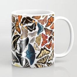 Butterflies of North America Pattern Coffee Mug