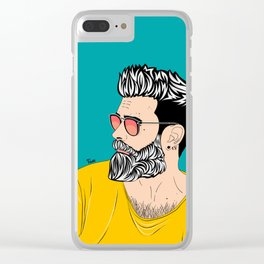 Hipster Clear iPhone Case