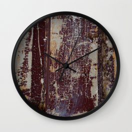 Paint Chips 2 Wall Clock