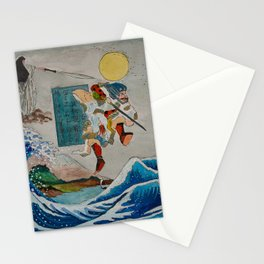 Tadatsune's Journey to Mount Fuji Stationery Cards