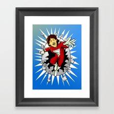 Mork from Ork Framed Art Print