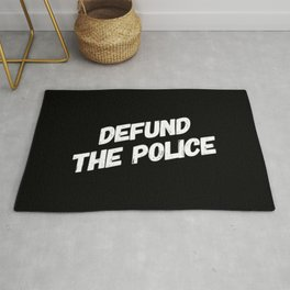 Defund the Police Rug