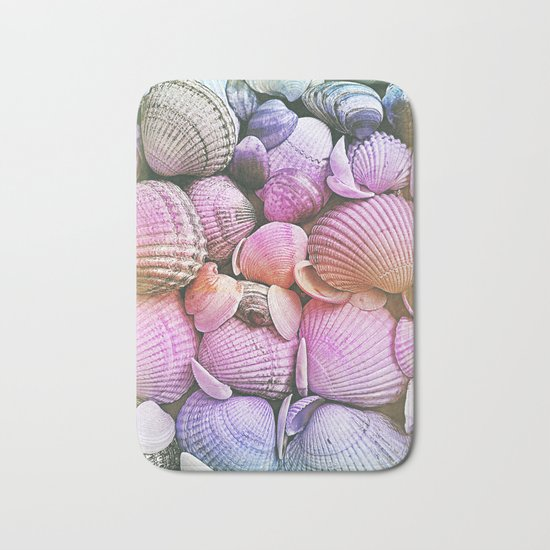 Vintage Candy Shells Bath Mat