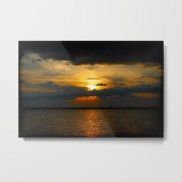Sunset 070618 Abilene,Texas Metal Print