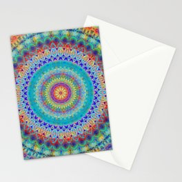 Boho City Mandala Stationery Cards