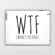 WTF - Where's The Food? Laptop & iPad Skin