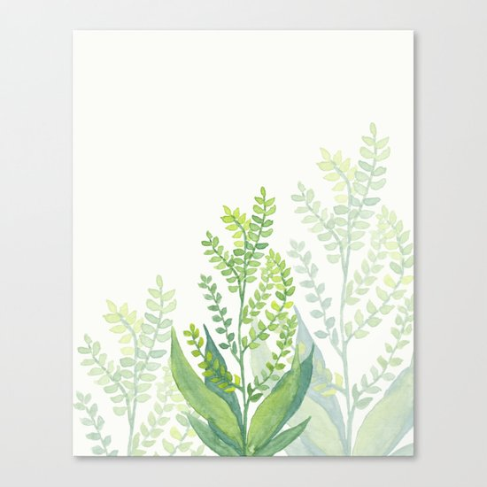 Botanical vibes 06 Canvas Print