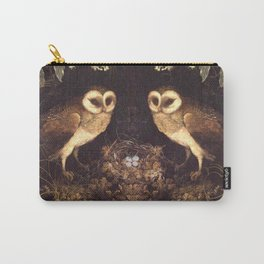 Owl Nest Carry-All Pouch