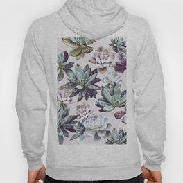 Succulents design Hoody