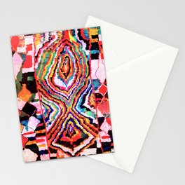 Bold Abstract Rug Pattern  Stationery Cards