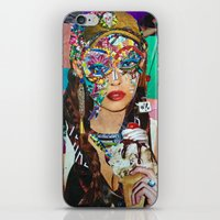 chelsea iPhone & iPod Skins featuring Chelsea by Katy Hirschfeld