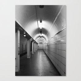 Train Platform Canvas Print