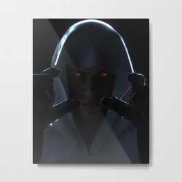 Force Metal Print