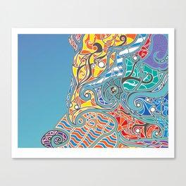 Bright Bear Canvas Print