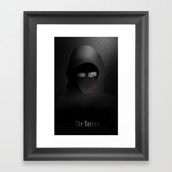 The Sorrow Framed Art Print