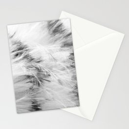 Marabou Feathers Stationery Cards