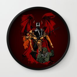 Emerging Victorious Wall Clock