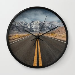 Mount Whitney 2 Wall Clock