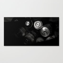 Trouble Time Canvas Print