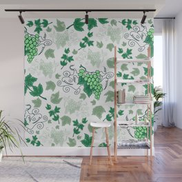 Bunches of grapes Wall Mural