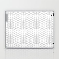 Leaf Pattern Textile Laptop & iPad Skin