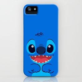 Stitch Cute Face iPhone Case