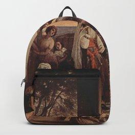 Francesco Hayez - Die neue Favoritin (Haremsszene) Backpack