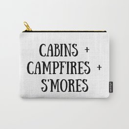 Cabins Campfire Smores Carry-All Pouch