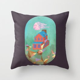 Lloyd's House Throw Pillow
