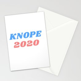 knope 2020 Stationery Cards