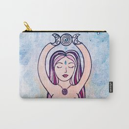 Nude spiral goddess Carry-All Pouch
